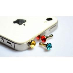 Záslepka na mobil diamant, Barva Černá