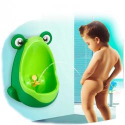 Dětský pisoár žabák, Barva Zelená
