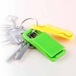 Stojánek na mobil rozkládací na klíče, Barva Černá