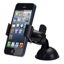 Držák telefonu do auta polohovatelný s přísavkou, Barva Bílá